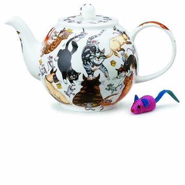 Dunoon Pussy Galore Large Teapot