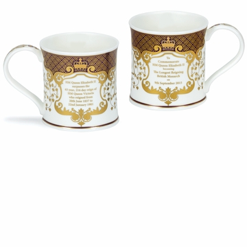 Dunoon Wessex Longest Reigning Monarch Mug
