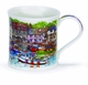 Dunoon Wessex White Harbour Cottages Mug