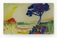 Dusk- Cote d'azure Decorative Glass Plate by Working Title