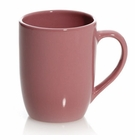 Dusty Rose 13 Ounce Coffee Mugs (4) by Hues and Brews
