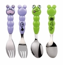 Eat 4 Fun Hippo/Froggie 2Pc Set