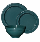 Emile Henry Blue Flame 3 Piece Dinnerware Set