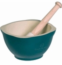 Emile Henry Blue Flame Mortar And Pestle