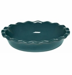 Emile Henry Blue Flame Pie Dish 9