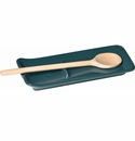 Emile Henry Blue Flame Ridged Spoon Rest