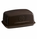 Emile Henry Charcoal Butter Dish