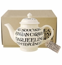 Emma Bridgewater All Over Writing 4-Cup Teapot