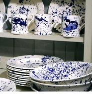 Emma Bridgewater Blue Splatter Collection