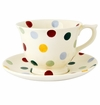 Emma Bridgewater Polka Dot Large Teacup And Saucer Set