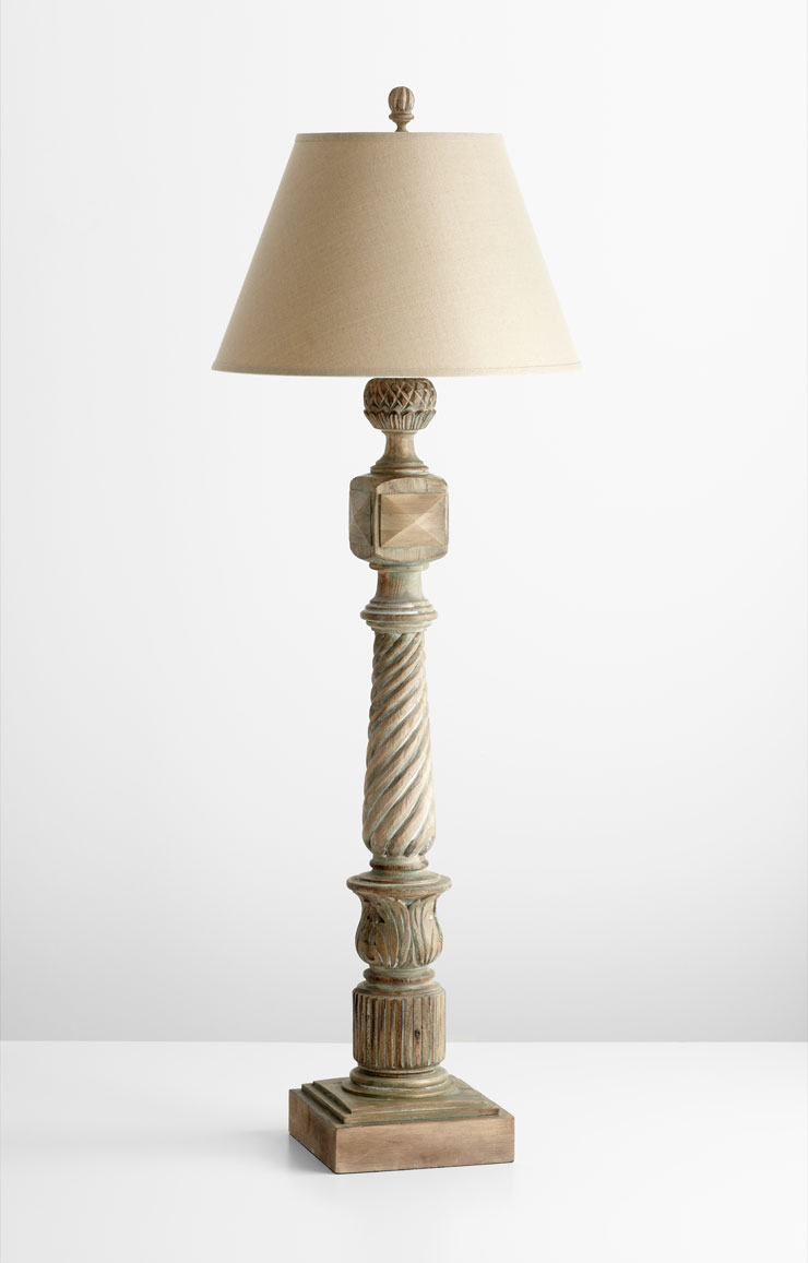 Empire wood floor lamp by cyan design Wood floor lamp