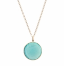 enewton Jewelry Majestic Regal Green Chalcedony Necklace