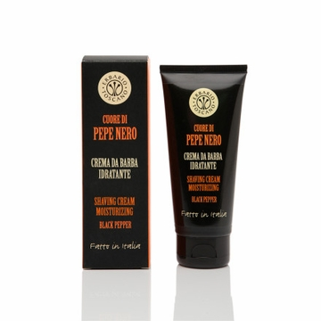Erbario Toscano Black Pepper Shaving Cream