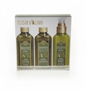 Erbario Toscano Olive Complex Shower Bath, Shampoo, & Body Balm Set