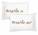 Faceplant Breathe In Breathe Out Pillowcase Set