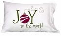 Faceplant Joy To The World Standard Pillowcase