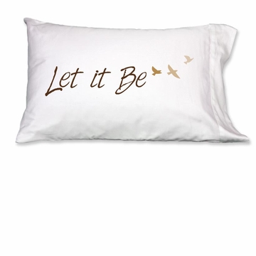 Faceplant Let it Be Standard Pillow Case