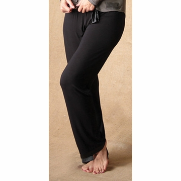 Faceplant Long Pajama Pants Black Small