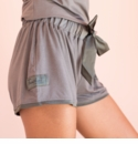 Faceplant Pajama Shorts Gray Small