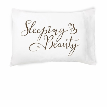 Faceplant Sleeping Beauty Standard Pillowcase