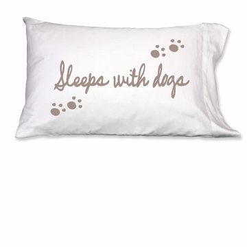 Faceplant Sleeps With Dogs Standard Pillow Case