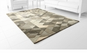 Facets Sage Green Rug Polyester 11'x7.1' by Cyan Design