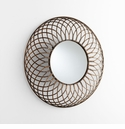 Fairplex Bronze Mirror by Cyan Design