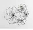 Fancy Flower Iron Wall Art by Cyan Design