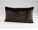 Faux Beaver Decorative Pillow by Cyan Design