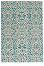 "Feizy Keats Turquoise 2'-2"" x 4' Rug"