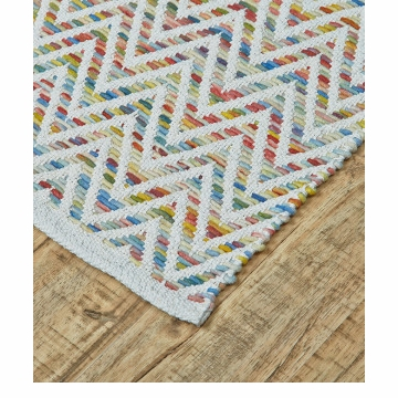 Feizy Mojave Multicolored 3'-6'' x 5'-6'' Rug