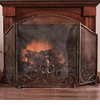 Fleur de Lis Fireplace Screen by SPI Home