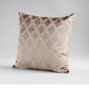 Flight Pattern Taupe Decorative Pillow by Cyan Design