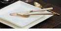 Fortessa Arrezzo Brushed Gold 20p Flatware Set