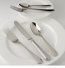 Fortessa Stainless Flatware Caviar 5 Piece Place Setting
