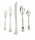 Fortessa Stainless Flatware Pantheon 5 Piece Place Setting