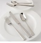 Fortessa Stainless Flatware Scalini 5 Piece Place Setting