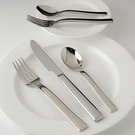 Fortessa Stainless Flatware Still 5 Piece Place Setting
