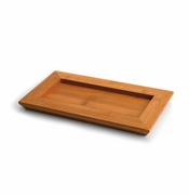 Franz Bamboo Song Bird Collection Bamboo Tray for Teapot Cup and Saucer