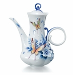 Franz Collection Forever Wedding Collection Porcelain Teapot