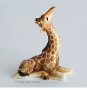 Franz Collection Giraffe Baby Figurine