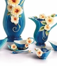 Franz Collection Island Hibiscus Porcelain Collection