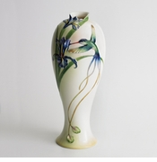 Franz Collection Long Tail Hummingbird Tall Vase