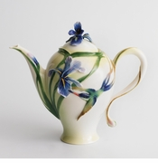 Franz Collection Long Tail Hummingbird Teapot