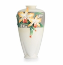 Franz Collection Magnificent Cattleya Orchid Large Vase