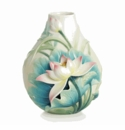 Franz Collection Porcelain Lotus Harmony Flower Porcelain Small Vase