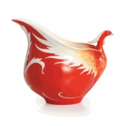 Franz Collection Porcelain Phoenician Flight Bird Porcelain Creamer