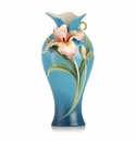 Franz Collection Porcelain Sweet Victory Iris Vase