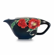Franz Collection Porcelain The Serenity Poppy Flower Creamer