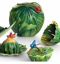 Franz Collection Rain Forest Little Dwellers Porcelain Collection